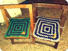 Personaliza tus sillas y dales un aspecto más retro con estos tapetes de crochet!