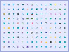 +5000 FREE Material 3D Graphics Icon Set