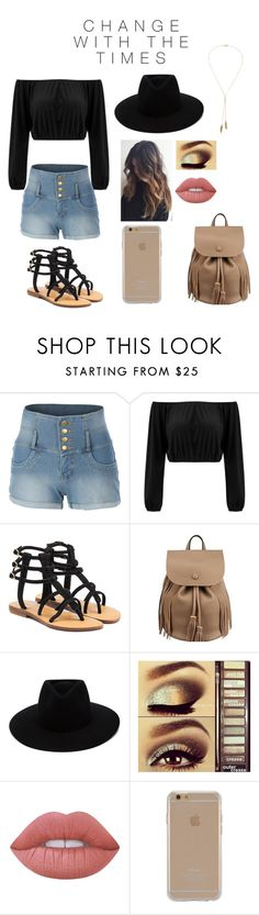 """""""Change with the times"""" by blessed-with-beauty-and-rage ❤ liked on Polyvore featuring LE3NO, Mystique, rag & bone, Urban Decay, Lime Crime, Agent 18 and Bølo"""