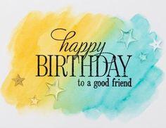 Happy Birthday friend                                                       …