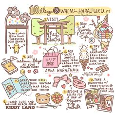 10 Things To Do When in Harajuku by Japan Lover Me​ – (2015 Version) | Kawaii Japan Lover Me