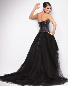 High-low Prom Dress 2013 Sweetheart Ball Gown Short Front Long Back Crystal  Bead Bandage Party Gowns 690b3c9f4ca3