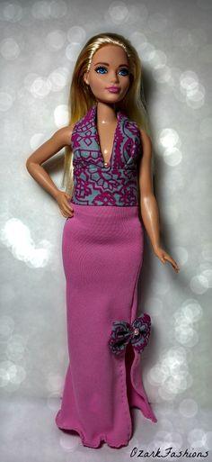 Curvy Barbie Doll Dress -