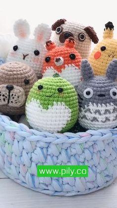 Crochet Keychain Pattern, Crochet Doll Pattern, Crochet Patterns Amigurumi, Amigurumi Doll, Crochet Dolls, Kawaii Crochet, Cute Crochet, Knit Crochet, Crochet Fruit