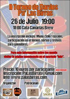 Pa' Las Birras: II Torneo de Dardos Pa' Las Birras