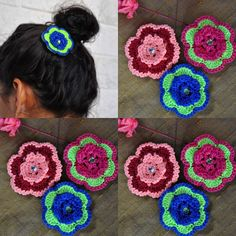 #flowerclips#girlsrock#messybuns#crochetflowers#buyhandmade#handmadeisbetter#setof3#colorsoflife#colorfulaccessories#lifeoforange#chocolatepepper#under15gifts#giftshop#etsylove#etsyworld#hairjewls#quickfashiontios#crochetlove#crochetflowers#uniquegifts by lifeoforange