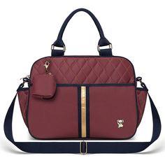 Bolsa Maternidade Viagem Natus Bordo Classic esse e outros modelos de bolsa para maternidade você encontra na Clik Baby! São vários modelos confira!