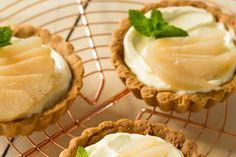 Zandtaartjes met stoofpeer Cookie Pie, Cookies, Cupcakes, Desserts, Sweet, Food, Dutch, Vanilla, Tailgate Desserts