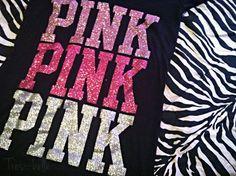 Glitter & PINK make me happy (: