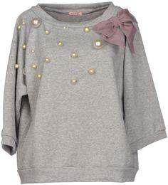Rose' A Pois Sweatshirt in Gray (Light grey)
