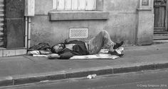 Down & Out in Paris, France. July 2014.