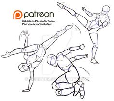 I bet you'll find it useful even though it's just a preview! I'm looking at various photos of parkour, dancers and martial arts XD I want to draw more of them!On Patreon for 5$ per month you'll be ...