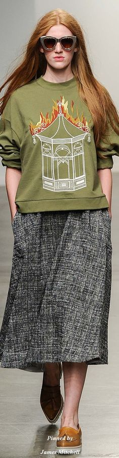 Karen Walker Collection Spring 2015 Ready-to-Wear