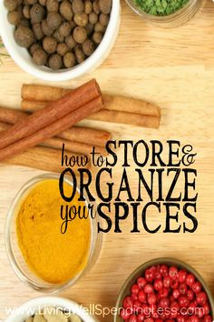 Is your spice drawer overflowing with jars of stuff you never actually use? While a well-stocked kitchen should include at least a basic selection of spices and herbs, chances are many of us are hoarding items we don't really need. If your pantry needs an overhaul, you will not want to miss these helpful tips for how to store & organize your spices!