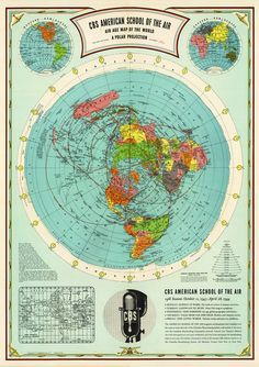 58 Best Flat Earth Maps images in 2019