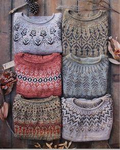 Photo by Jenn Steingass on January via Knitting Designs, Knitting Projects, Knitting Patterns, Crochet Patterns, Fair Isle Knitting, Hand Knitting, Icelandic Sweaters, Moda Casual, Winter Mode