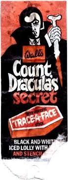 Wall's Count Dracula's Secret  lollipop (1970s)