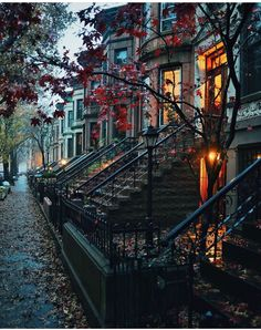 """Brooklyn, New York. Pic by Sam Horine via """"Park Slope Historic District. Brooklyn, New York. Pic by Sam Horine via Beautiful World, Beautiful Places, Wonderful Places, Beautiful Streets, Wonderful Picture, Beautiful Beautiful, Amazing Places, The Places Youll Go, Places To Visit"""