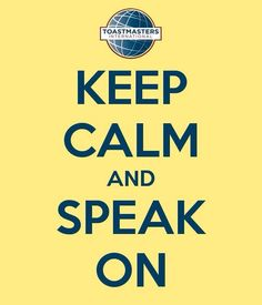 Scared of speaking in public? Join Toastmasters International to help solve your problem! ***