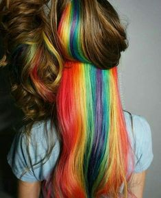 Hidden Rainbow Hair 3