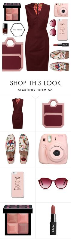 """Hexad"" by andrea2andare ❤ liked on Polyvore featuring Ted Baker, Gucci, Fujifilm, Givenchy and Chanel"