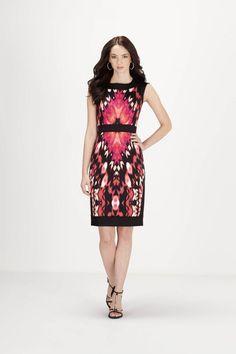 Dresses | Melanie Lyne - Maggy London Ikat Print Banded Dress $165