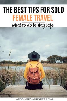 Traveling solo as a female doesn't have to be scary! Follow these tips to stay have and feel secure when traveling alone. #traveltips #solotravel | solo female travel | solo travel | traveling alone | travel tips | travel inspiration | wanderlust | independent travel Solo Travel Tips, Travel Advise, Travel Goals, Travel Info, Travel Hacks, Travel Essentials, Travel Style, Top Travel Destinations, Travel Planner