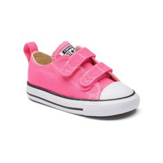 6a87e5b69a51 Toddler Girls  Converse Chuck Taylor All Star 2V Sneakers