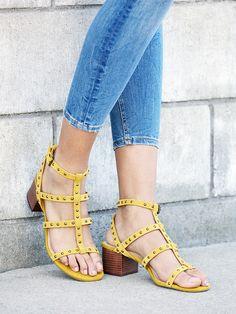 Studded leather gladiator sandal | Sole Society Phoenix