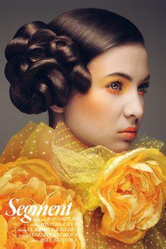 """Color""   Model: Aigul Fazylova, MUA: Vladimir Kalinchev, Hair: Larisa Gimalieva, Photographer: Jean Osipyan, May 2013"