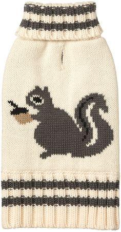 Fab Dog Squirrel Sweater - Free Shipping