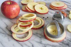 Making Apple Rings