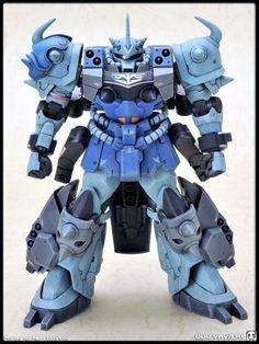 HG 1/144 GPB-07B-3 SUPER GOUF CUSTOM - custom build - Gundam Kits Collection News and Reviews