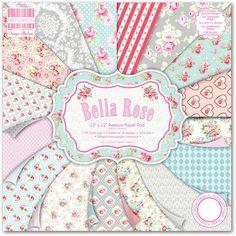 Bella Rose Paper Pad 48 Sheet | Hobbycraft