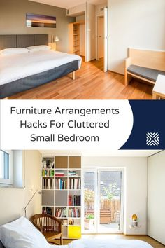 Is your small bedroom feeling a bit cramped? Try our 7 small bedroom furniture hacks and arrange bedroom furniture like a professional interior designer. Arranging Bedroom Furniture, Small Bedroom Furniture, Furniture Arrangement, Area Rug Placement, Diy Projects Cans, Create A Budget, School Architecture, Saving Ideas, Simple House