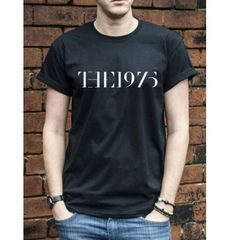 Tops & Tees The 1975 T-Shirt indy Rock music Sex Girls Facedown Mens Womans gift TShirt Male T-shirts 100% cotton
