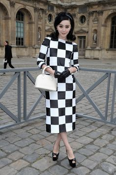 Fan Bing Bing at Louis Vuitton RTW Fall 2013 during Paris Fashion Week
