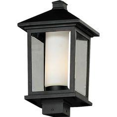 'Mesa' Black Outdoor Post Light