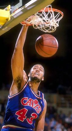 Brad Daugherty, Sports Images, 1990s, Cleveland, Pittsburgh, Finals, Nba, In This Moment
