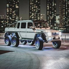 Mercedes 6x6, Mercedes G Wagon, Mercedes G Class, 6x6 Truck, Custom Pickup Trucks, Ford Trucks, G 63 Amg, Automobile, Wagon Cars