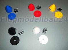 Spinner aus Kunstoff Ø 51 mm Rot  Blau  Gelb Schwarz oder Weiß RC Modellbau