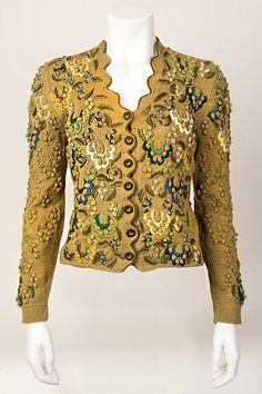 60 Fashion, Knit Fashion, Fashion Dresses, Vintage Fashion, Vintage Outfits, Vintage Wardrobe, Bohemian Mode, Dirndl Dress, Vintage Knitting