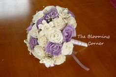 Wedding Bouquet Sola wood Bouquet Sola by TheBloomingCorner, $120.00
