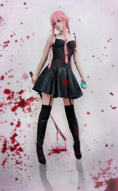 Yuno Gasai cosplay by Kawaielli