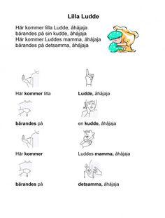 Mariaslekrum - Tecken. Learn Swedish, Swedish Language, Montessori, Learning, Words, Awesome, Music, Studying, Be Awesome
