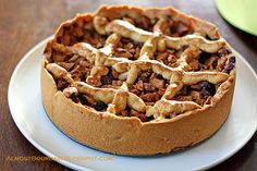 Traditional Dutch Apple Cake - I try to make it every year. The crust is like no other:) Dutch Recipes, Apple Recipes, Sweet Recipes, Cookie Recipes, Dessert Recipes, Fruit Recipes, Dessert Ideas, No Cook Desserts, Kitchens
