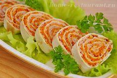 лаваш с корейской морковью фото 16