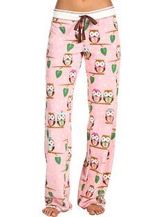 Owl pj pants!!!