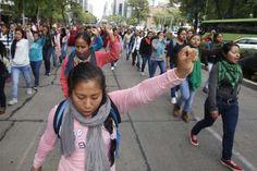 Alto a la represión contra normales rurales, exigen estudiantes