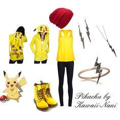 Pikachu, created by kawaii-nani on Polyvore
